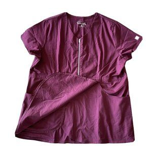 Butter Soft Womens Size Large Burgundy Red Stretch